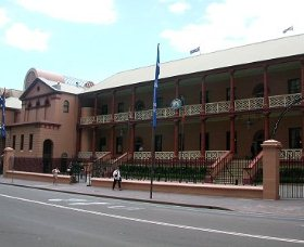 Parliament House - Accommodation Georgetown