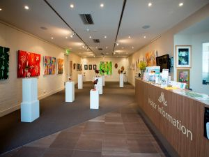 Australian National Botanic Gardens Visitor Centre Gallery - Accommodation Georgetown